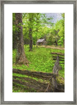 Somebody Lived Here II Framed Print by Jon Glaser
