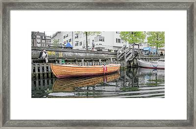 Somebody's Girl Copenhagen Framed Print