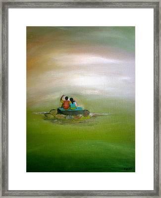 Someday Framed Print by Philip Okoro