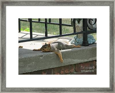 Someone There Framed Print