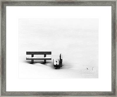 Someone To Hear You When You Sigh Framed Print