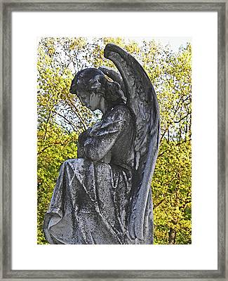 Someone To Watch Over Me Framed Print by Elizabeth Hoskinson