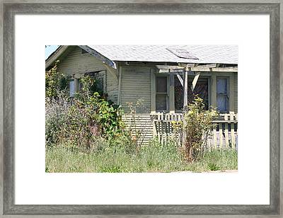 Someone's Home Framed Print by Wendi Curtis