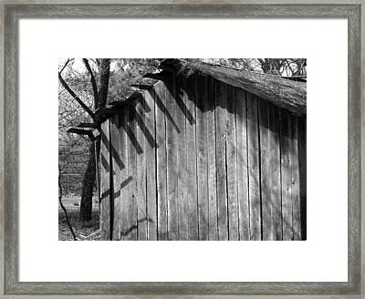 Someraingetsthrough Framed Print