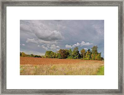 Framed Print featuring the photograph Somerset Sky 3069 by Guy Whiteley