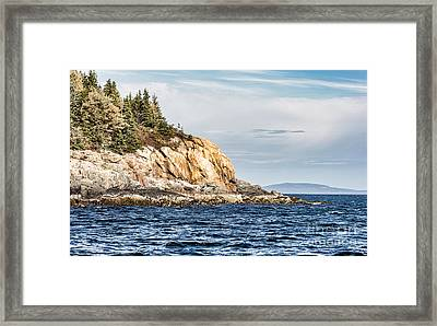 Framed Print featuring the photograph Somes Sound by Anthony Baatz