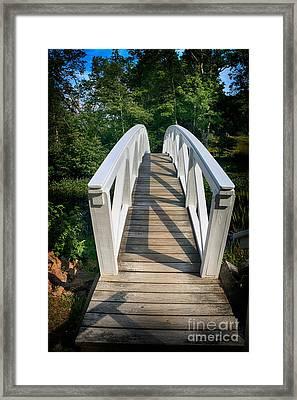 Somesville Bridge Framed Print
