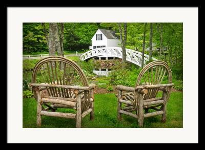 Somesville Maine Framed Prints