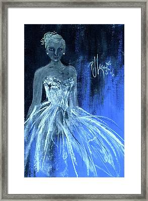 Something Blue Framed Print by P J Lewis
