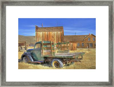 Framed Print featuring the photograph Somethin' 'bout A Truck by Donna Kennedy