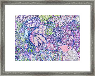Something Fishy Framed Print by Aimee Mouw