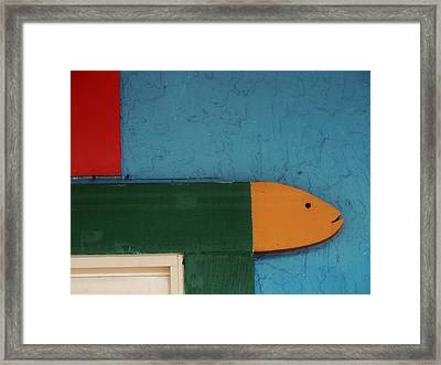 Something Fishy Framed Print