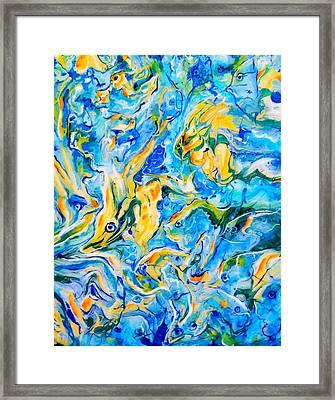 Something Fishy Framed Print by Gail Butler
