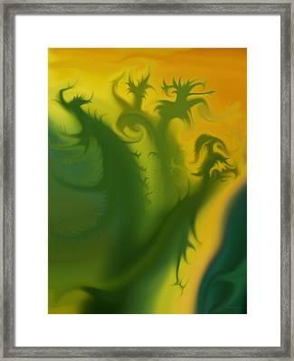 Something Green Framed Print