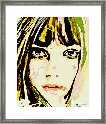 Something In Her Style Framed Print by Tanya Filichkin