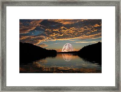 Something In My Coffee Framed Print by Ross Powell