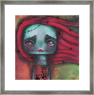 Something In The Wind Framed Print