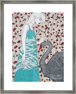 Framed Print featuring the mixed media Something Magical by Natalie Briney