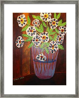 Something New Framed Print by Manny Chapa