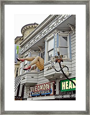 Something To Find Only The In The Haight Ashbury Framed Print