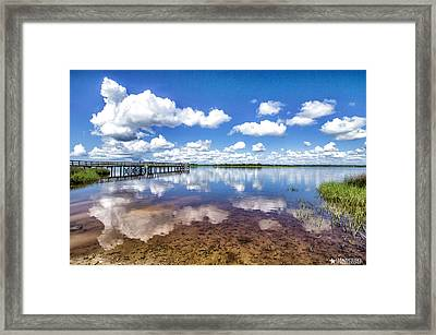 Something To Reflect On Framed Print