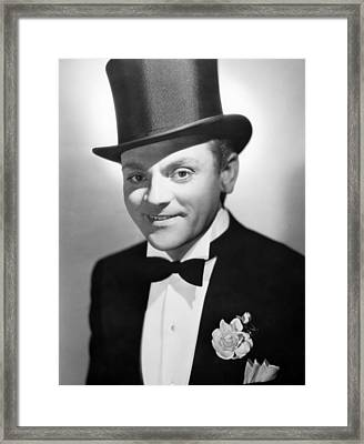 Something To Sing About, James Cagney Framed Print by Everett