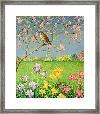 Something To Sing About Framed Print by Pat Scott