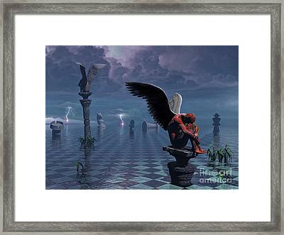 Something Wicked This Way Comes Framed Print by ML Walker