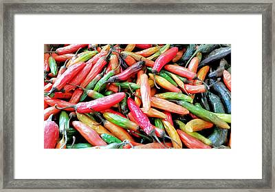 Framed Print featuring the photograph Something's Burning In The Kitchen by Lara Ellis