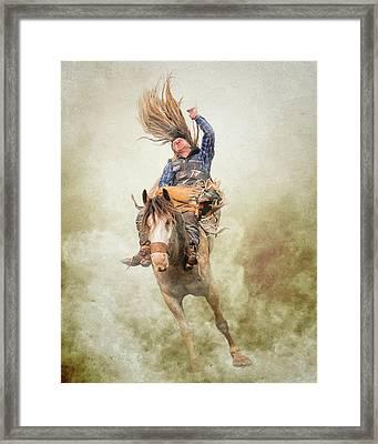 Sometimes One Horsepower Is Plenty Framed Print