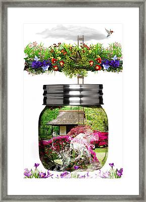 Coming Back To Life Framed Print