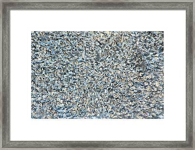 Somewhere Between Framed Print by Rodger Werner