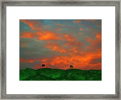 Somewhere Else Framed Print