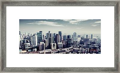 Somewhere In Japan Framed Print by Joseph Westrupp