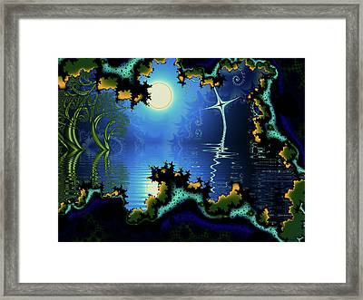 Somewhere In Time Framed Print