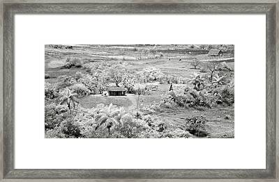 Somewhere In Vinales Framed Print by Eduard Moldoveanu