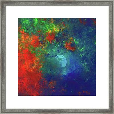 Somewhere Out There Wall Art Framed Print by Georgiana Romanovna