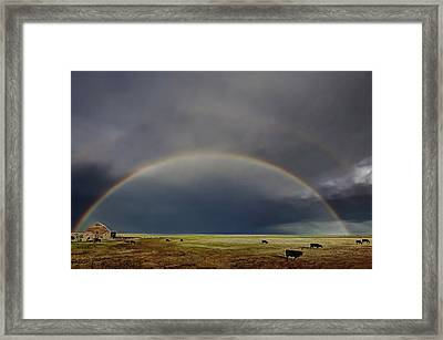 Somewhere Over... Framed Print