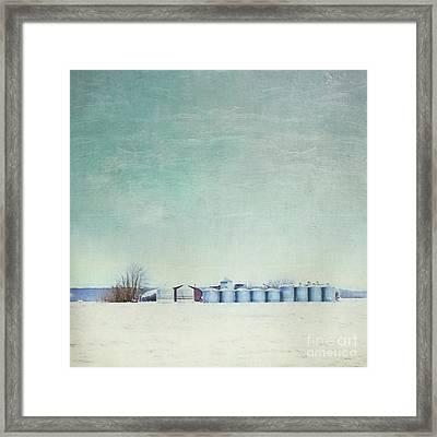 Somewhere Framed Print by Priska Wettstein