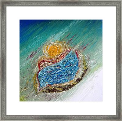 Somewhere There Is A Wonderful World ... Framed Print