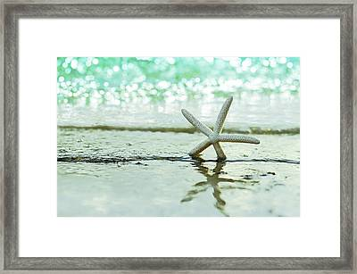 Somewhere You Feel Free Framed Print