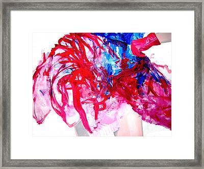 Sommerkleid Framed Print by Eckhard Besuden