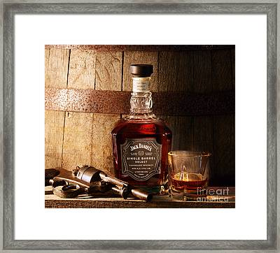 Son Of A Gun Framed Print by Jon Neidert