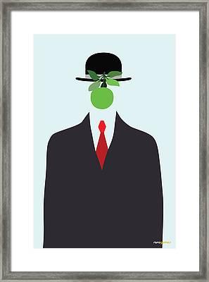 Son Of A Man Framed Print by Rafael Gomes