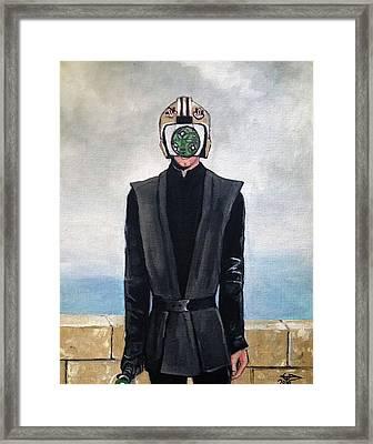 Son Of Sith Framed Print by Tom Carlton