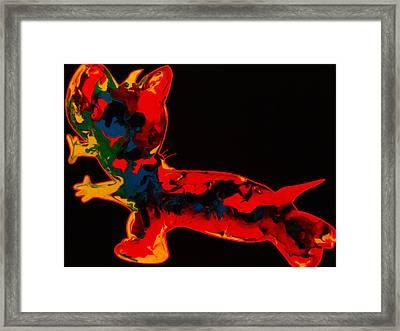 Sonar Framed Print