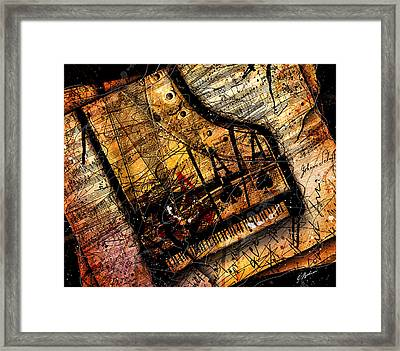 Sonata In Ace Minor Framed Print by Gary Bodnar