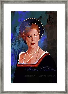 Sondra Radvanovsky Framed Print