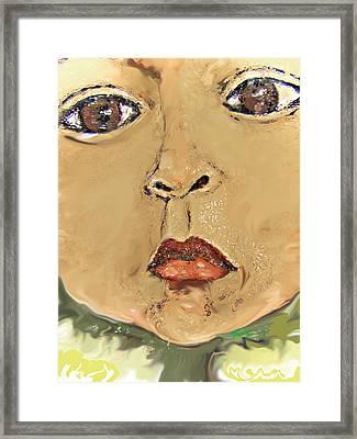 Sonflower Framed Print by Noredin Morgan