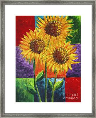 Sonflowers I Framed Print